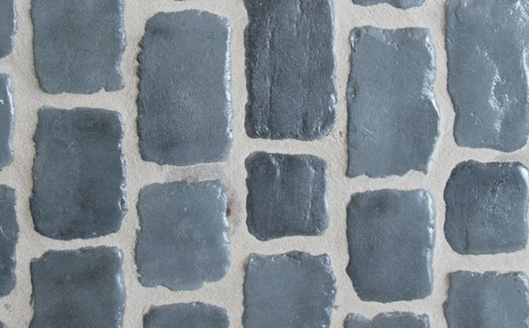 "Pavés Courtstones Natural ép.5,8cm ""OCEAN BLUE"""