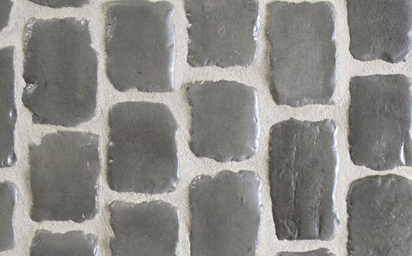 Pavés Courtstones Natural ép. 5,8 cm PEBBLE GREY